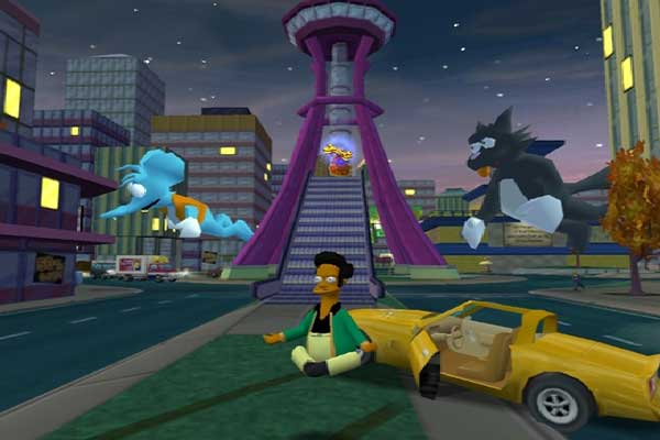 Игра The Simpsons: Hit and Run 7