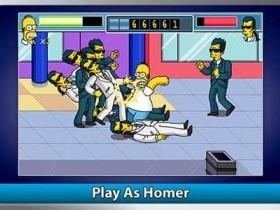 Игра The Simpsons Arcade