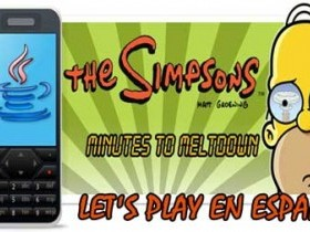 Игра The Simpsons: Minutes to Meltdown