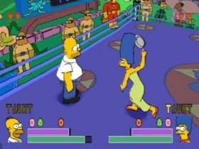 Игра The Simpsons Wrestling