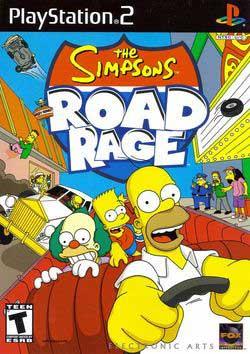 Игра The Simpsons Road Rage