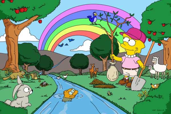 Лиза и гигантское дерево