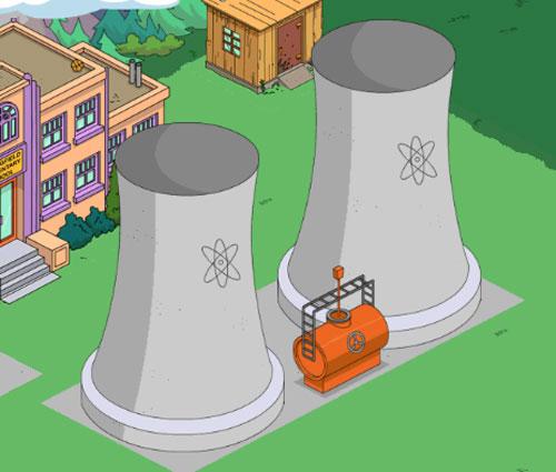 Атомная электростанция в Спрингфилде