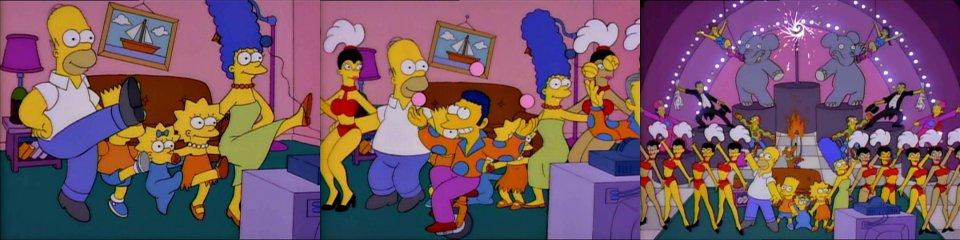 Симпсоны и цирковые артисты