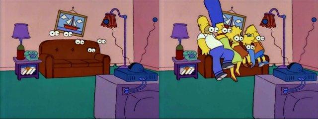Безглазые Симпсоны