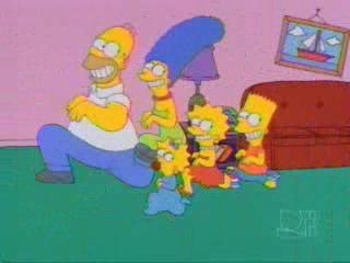Симпсоны бегают
