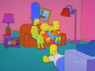 Гомер падает