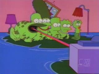 Лягушки Симпсоны