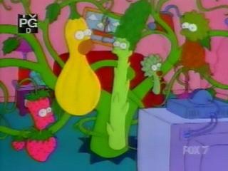 Симпсоны растения