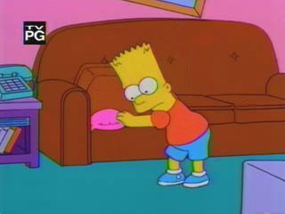 Гомер и пукающая подушка