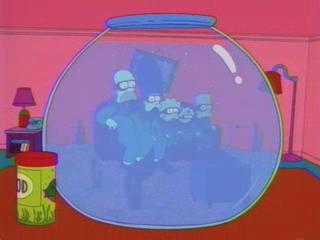 Симпсоны в аквариуме