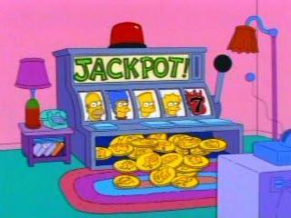 Симпсоны игровой автомат