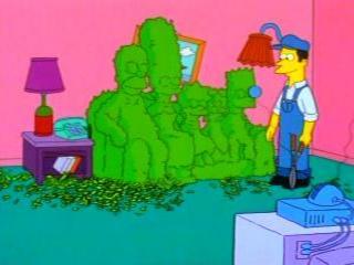 Садовник Симпсоны
