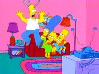 Гомера схватили за голову