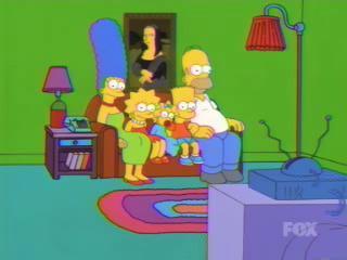 Гомер и курсор мыши