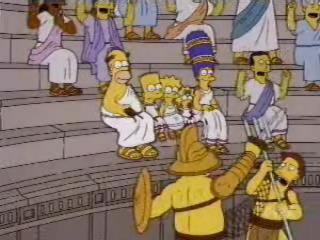 Симпсоны в римскую эпоху