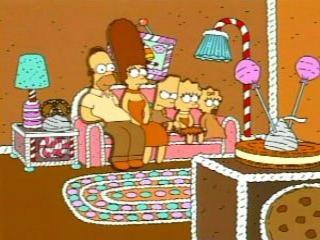 Симпсоны пирожное