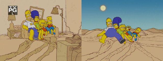Симпсоны в пустыне