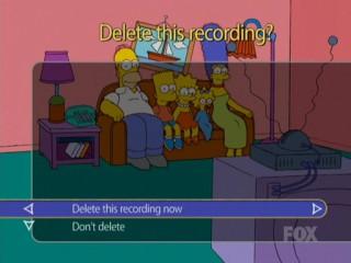 Удалить запись Симпсонов