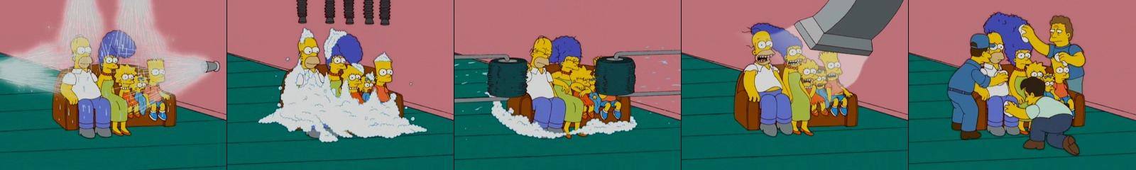 Моечная машина Симпсоны