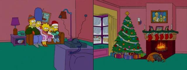 Рождество Симпсоны
