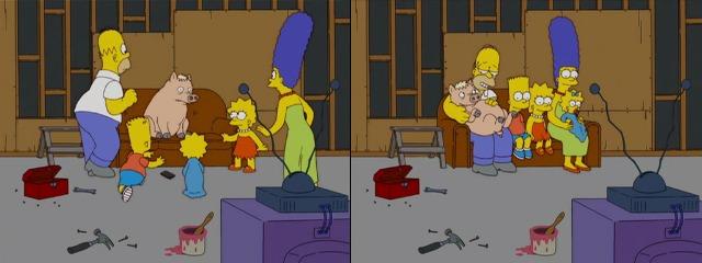 Свинья и Симпсоны