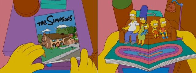 Симпсоны в книге