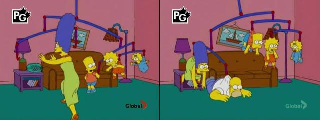 Симпсонов подвесили