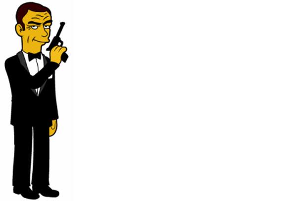 Пародия агент 007 Джеймс Бонд