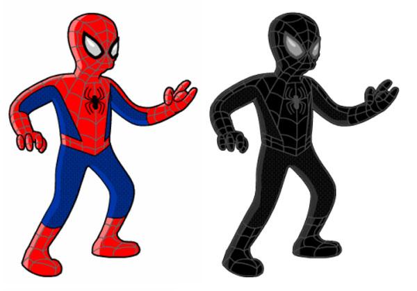 Человек-паук и темная сущность