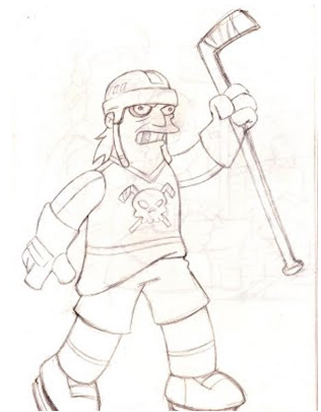 Хоккеист МакГрадски