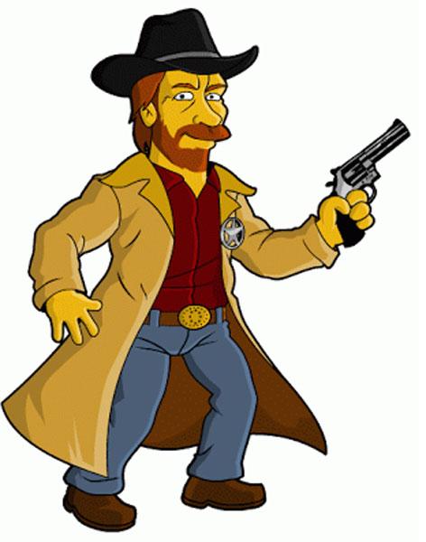 Чак Норрис шериф
