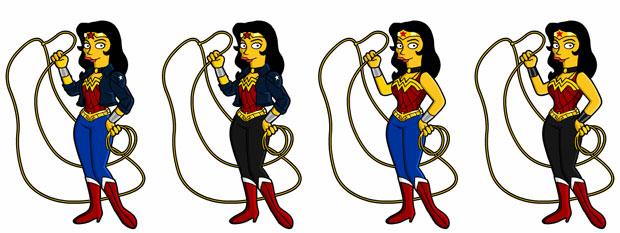 Супергерой Чудо-Женщина