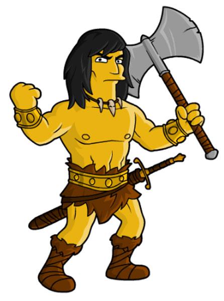 Воин Конан-варвар