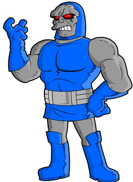Герой комиксов Marvel - Дарксайд