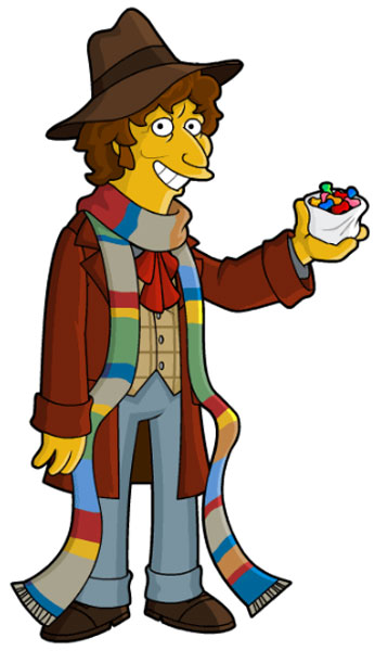 Доктор Кто в шарфе