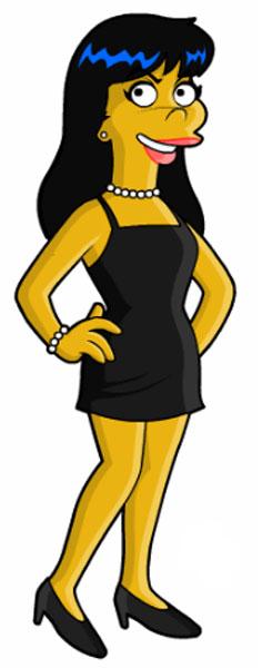 Вероника Лодж в платье
