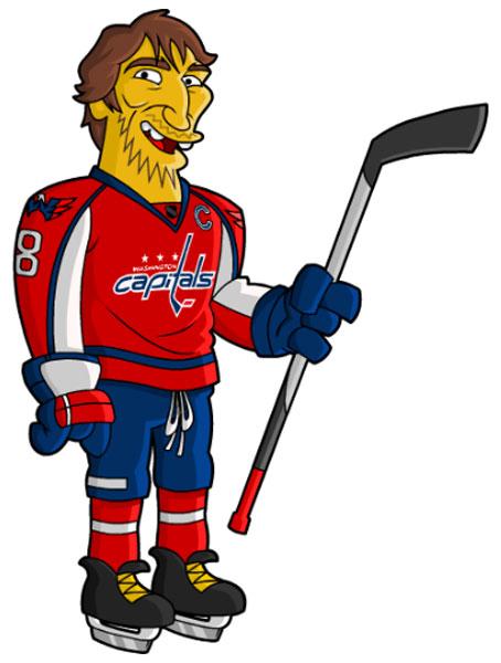 Нападающий хоккеист Овечкин
