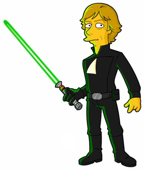 Джедай из Звездных войн - Люк Скайуокер