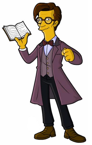 Доктор Кто с книгой