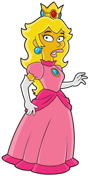 Принцесса из Супер Марио