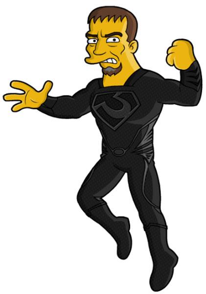 Супергерой Зод человек из стали