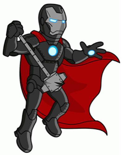 Бронированный Железный Человек