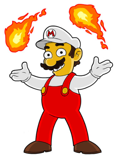 Огненный Марио