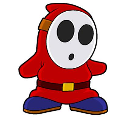 Застенчивый парень из Марио