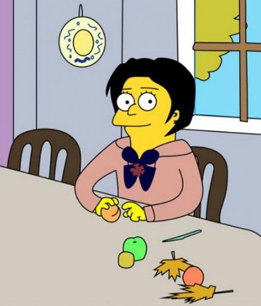 Серов - девушка с персиками
