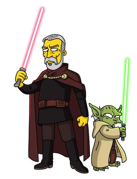 Граф Дуку и Йода