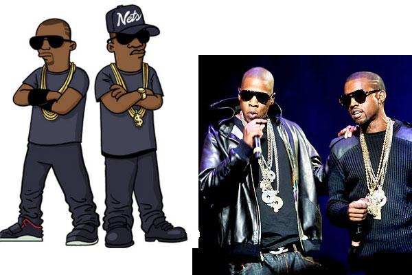 Jay-Z и Кенни Вест