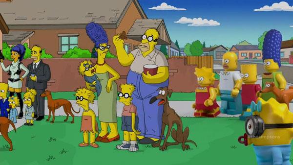 Разные версии Симпсонов