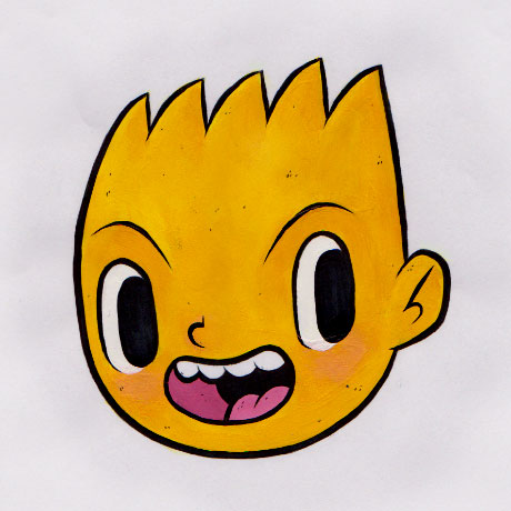 Азиатский Барт Симпсон